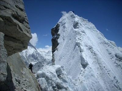 Island Peak, Lobuche and Nirekha Peak climbing with 3 Passes Trek