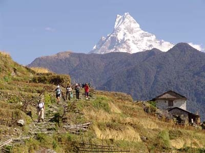 Nepal Annapurna Trek and Bhutan Tour with day hikes